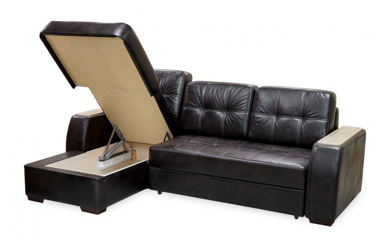 ДАНА, диван с оттоманкой, в разложенном виде