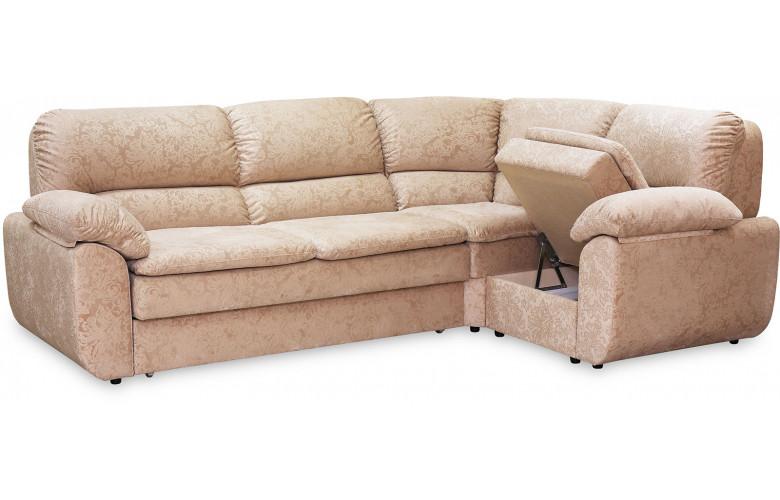 Остин, угловой диван в процессе разложения
