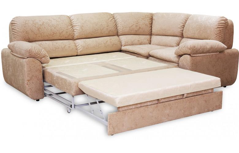 Остин, угловой диван в разложенном виде