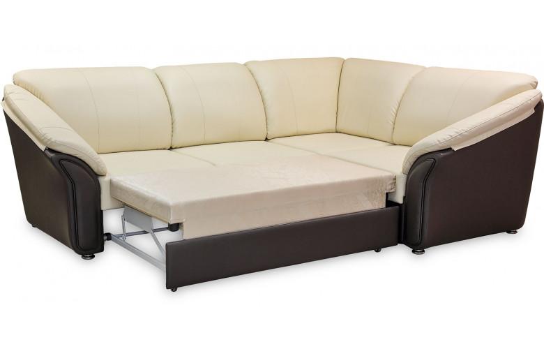 ВАЛЕНСИЯ, угловой диван в разложенном виде