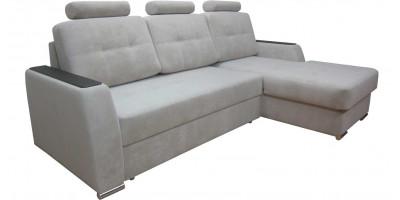 № 4509 Сенсейшен 55 (Ф), МДФ венге (Вариант дивана с подголовниками)