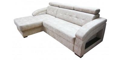 ДЖУЛИЯ, угловой диван с оттоманкой