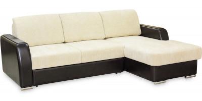 ГЛОРИЯ 2, диван с оттоманкой