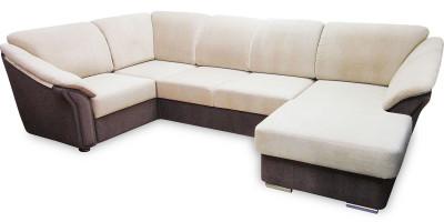 Валенсия, угловой диван с оттоманкой